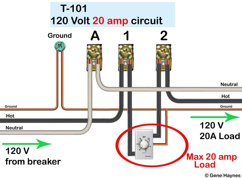 how to overide t101 with switch rh waterheatertimer org