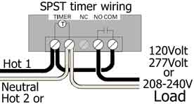 Woods timers and manuals | Woods 59008 Timer Wiring Diagram |  | Waterheatertimer.org