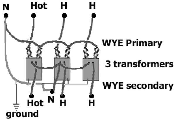 3 Phase Transformer Wiring Diagram from waterheatertimer.org