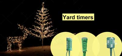 Yard and Christmas timers