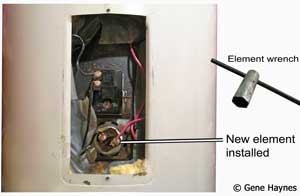install new element