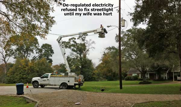 de-regulated electric