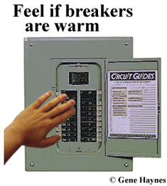 circuit breakers are warm