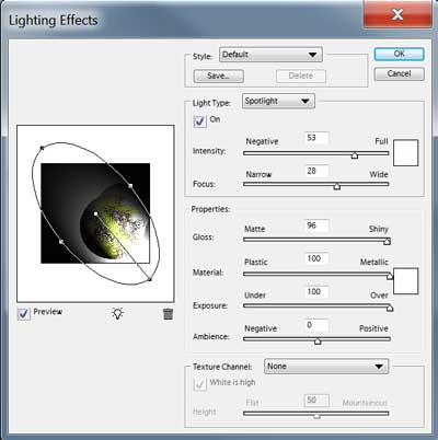 curved gradient in photoshop elements