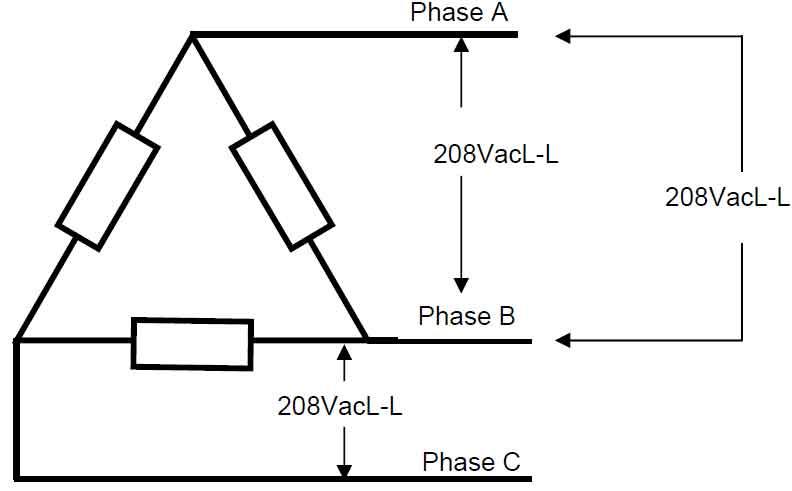 [SCHEMATICS_4ER]  What is 208 volts | 208 Single Phase Wiring Diagram |  | Waterheatertimer.org