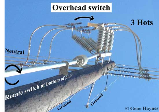 power pole switch