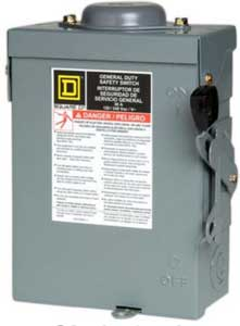 outdoor 30 amp fusable safety switch