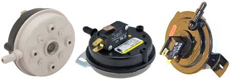 water heater pressure switch