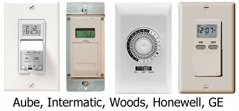 water heater timer switches