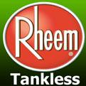 Rheem Tankless logo