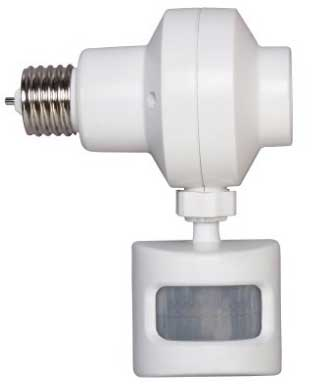 Screw-in motion sensor