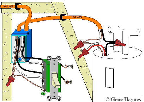 Control water heater using 30 amp switch | Two Pole Switch Wiring Diagram |  | Waterheatertimer.org