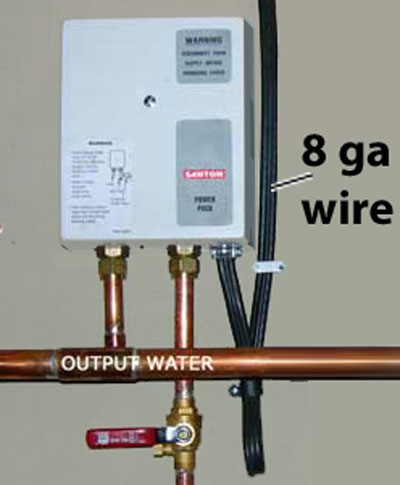 Rheem Tankless Water Heater Installation