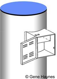 water heater control box