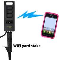 WiFi yard stake