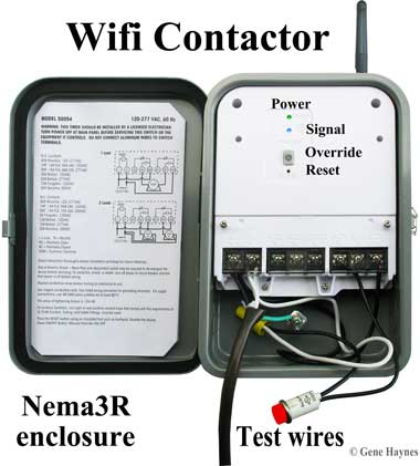 woods timers and manuals wifi contactor