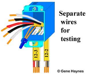 Test wires